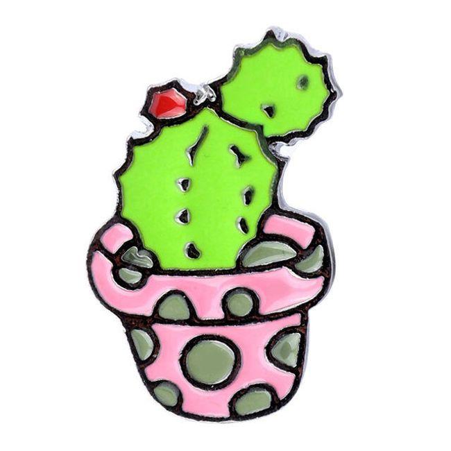 Kaktusová brož 1