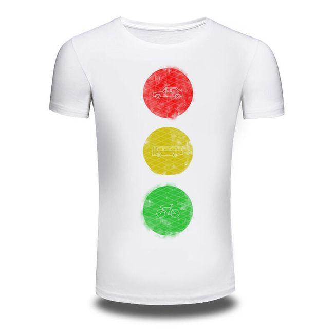 Pánské tričko se semaforem 1