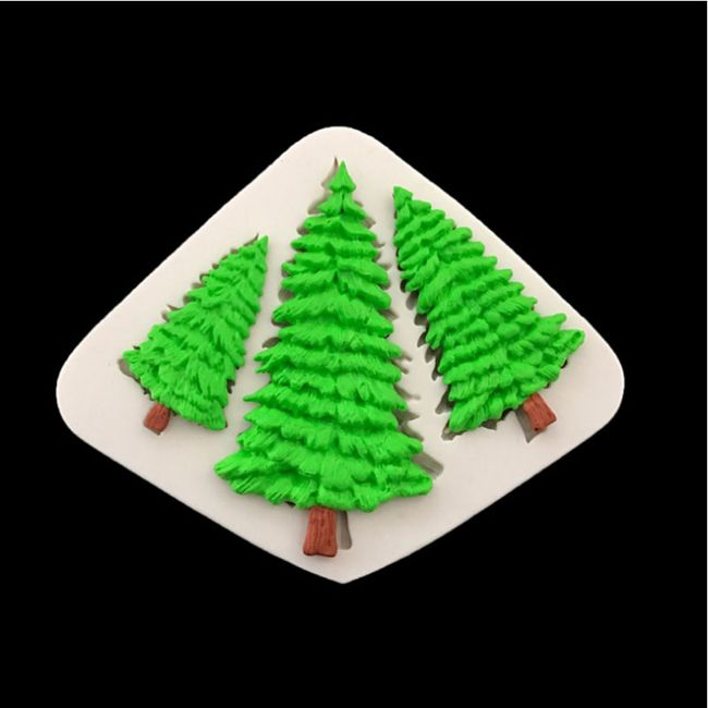 Silikonová forma na stromky 1
