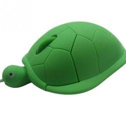 Myš k počítači ve tvaru želvy - 3 barvy