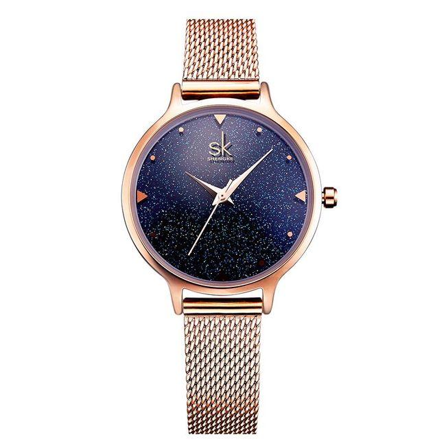 Dámské hodinky se zdobeným ciferníkem 1