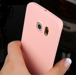 Zadní kryt pro Samsung Galaxy S6/S6 Edge/S7 v pastelových barvách