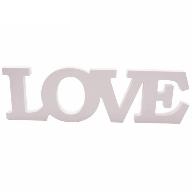 Svatební dekorace - LOVE 1