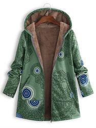 Dámská bunda s kapucí Podzimea