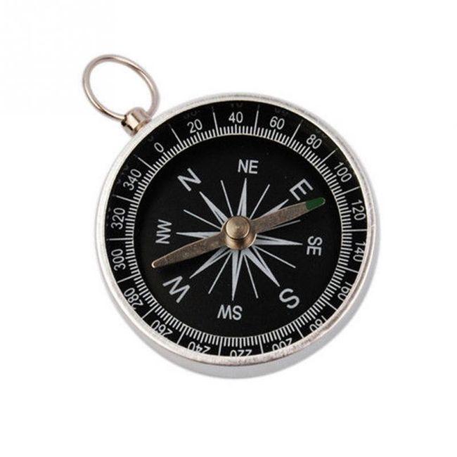 Kompas na turistiku - černý 1