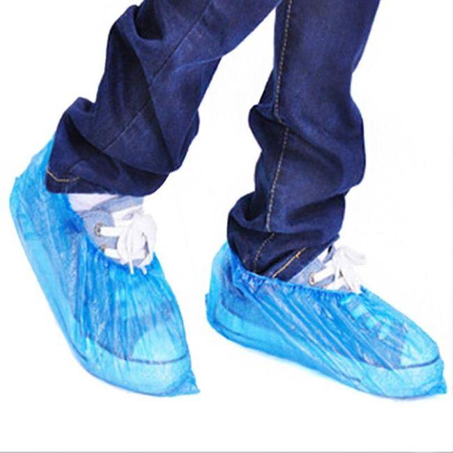 100 ochranných návleků na boty 1