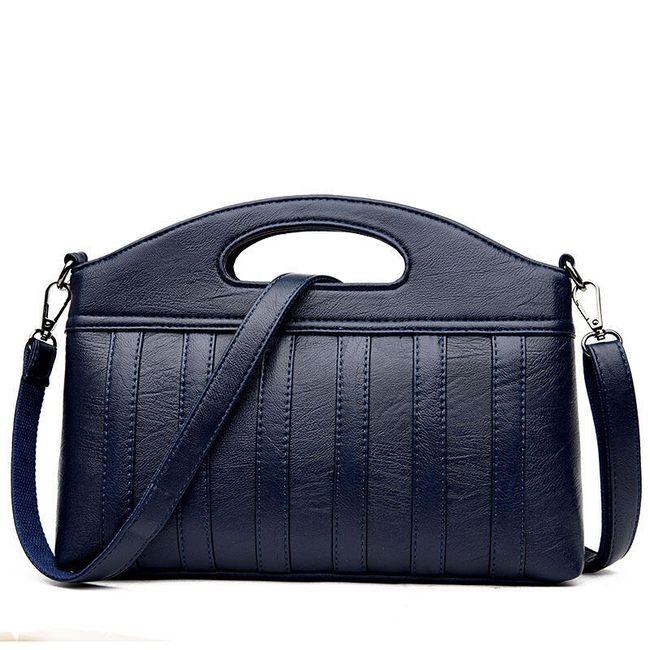 Pruhovaná dámská kabelka - 6 barev 1