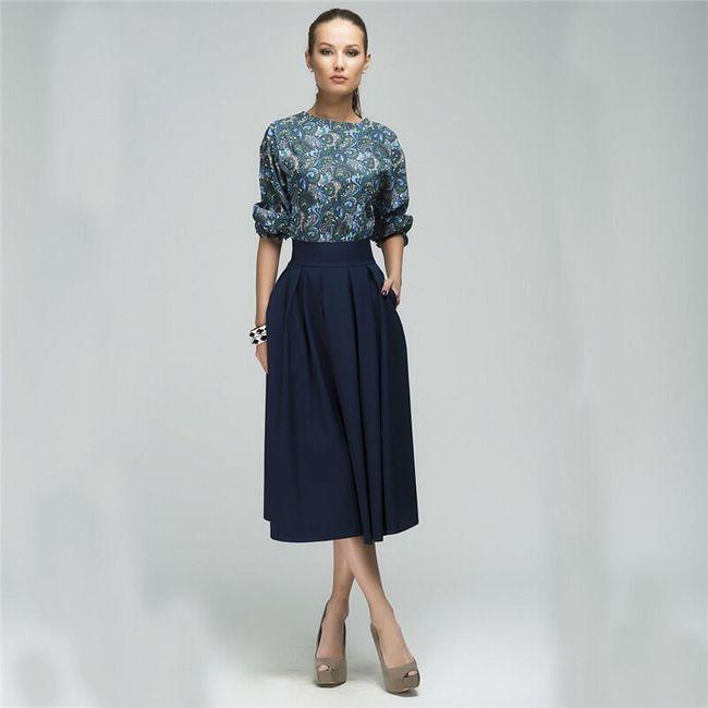 Elegantní šaty s kapsami 1
