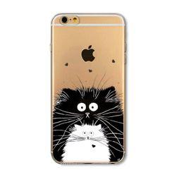 Pouzdro na Apple iPhone s roztomilými zvířecími motivy