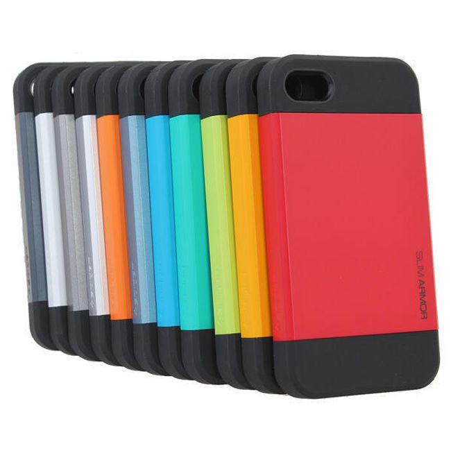 Silikonové pouzdro pro iPhone 4 a 4S - 11 barev 1