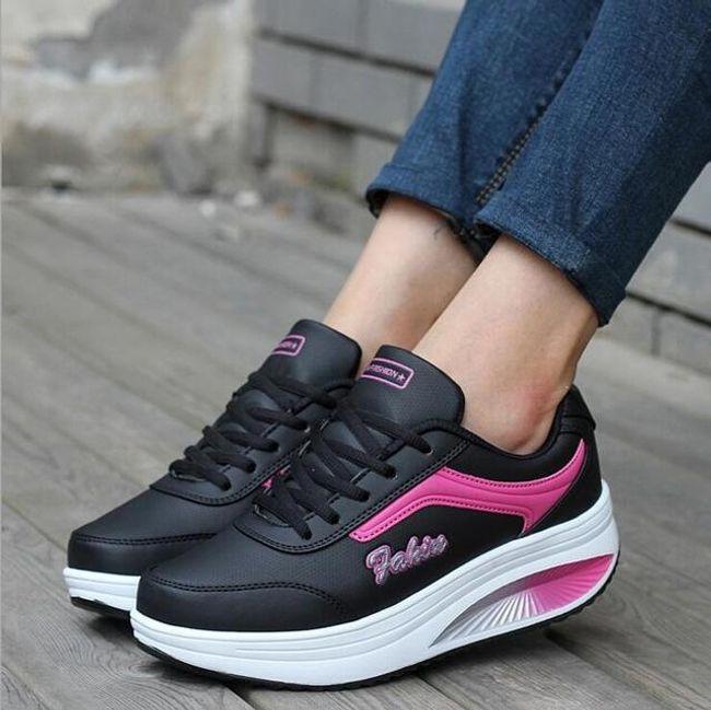 Dámské boty na platformě - více barev 1