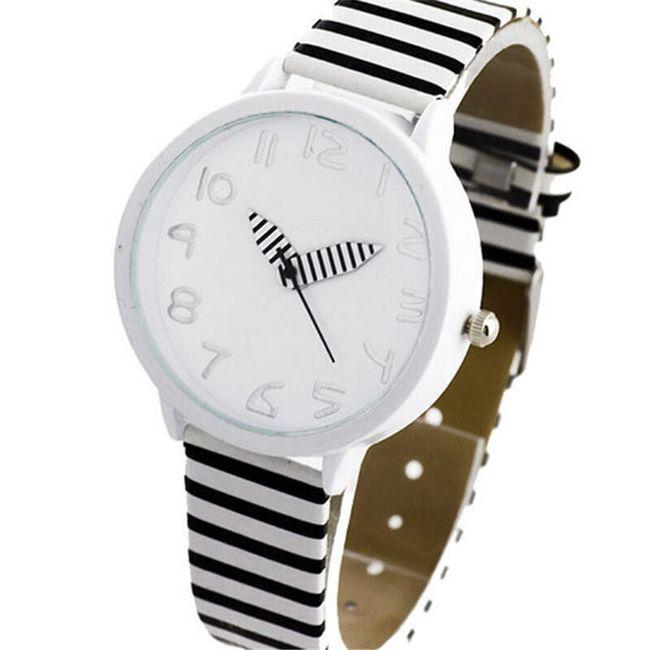Zebrované dámské hodinky 1