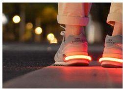 Reflexní světlo na boty - více barev