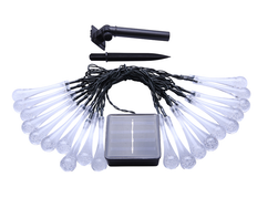 Solární řetěz s kapkami