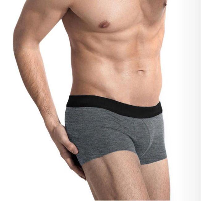 Jednoduché pánské boxerky - 5 barev 1