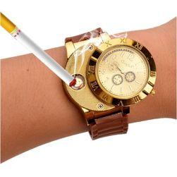 Pánské hodinky se zapalovačem - 3 barvy