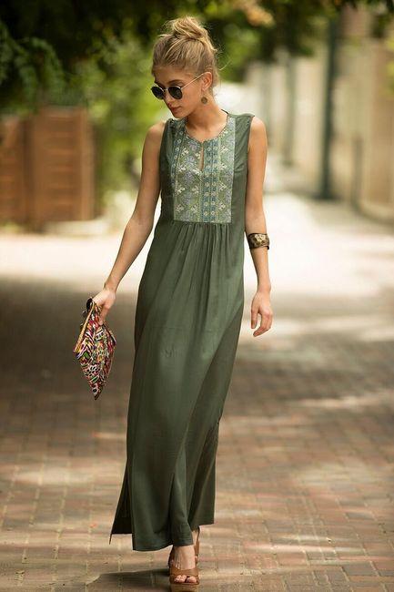 Dlouhé dámské šaty Cokie 1