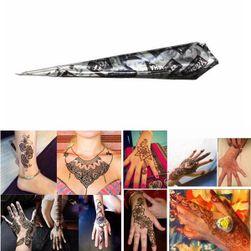 Černá henna v tubě