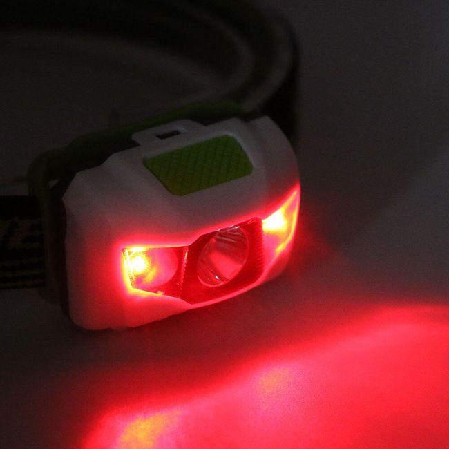 LED svítilna 600 lm na hlavu 1