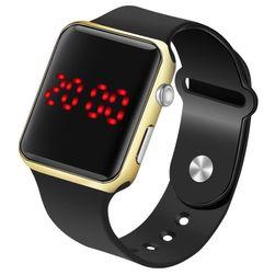 Silikonové LED hodinky - 8 variant