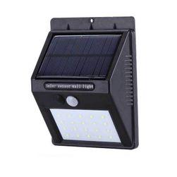 Venkovní LED světlo s pohybovým senzorem na solární energii