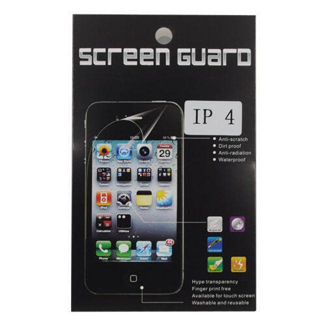 Transparentní ochranná folie na iPhone 4 1