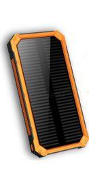 Vodotěsná powerbanka se solárním panelem