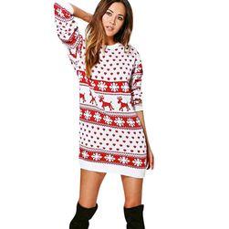 Dámské vánoční šaty Vanny