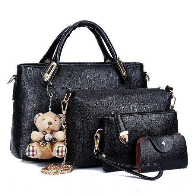 Dámská kabelka - sada 4 kusů 1