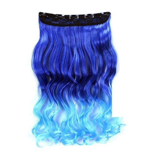Umělé vlasy s klipy - více barev 1