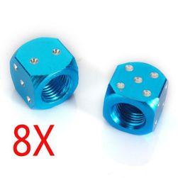 Čepičky na ventilky - hrací kostka, 4 páry