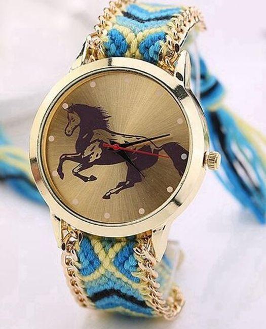 Dámské hodinky s koněm - 8 variant 1