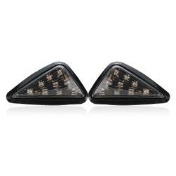 LED blinkry na motorku ve tvaru trojúhelníku - 2ks