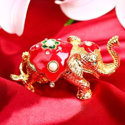 Figurka slona s úložným prostorem