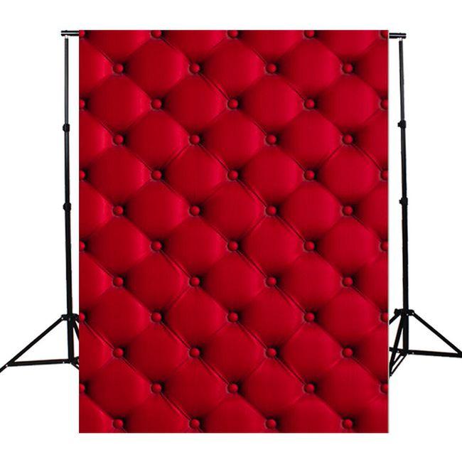 Fotopozadí v červené barvě - 1.5 x 2.1 m 1