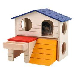 Dřevěný domeček pro křečka