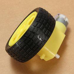 Motor s převodovkou a kolečkem pro chytré vozítko
