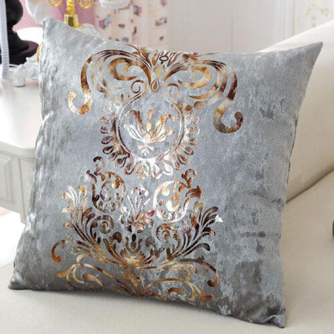 Povlak na polštář s elegantním motivem - 6 barev 1