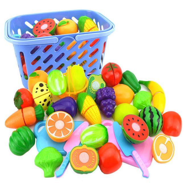 Košík s ovocem a zeleninou 1