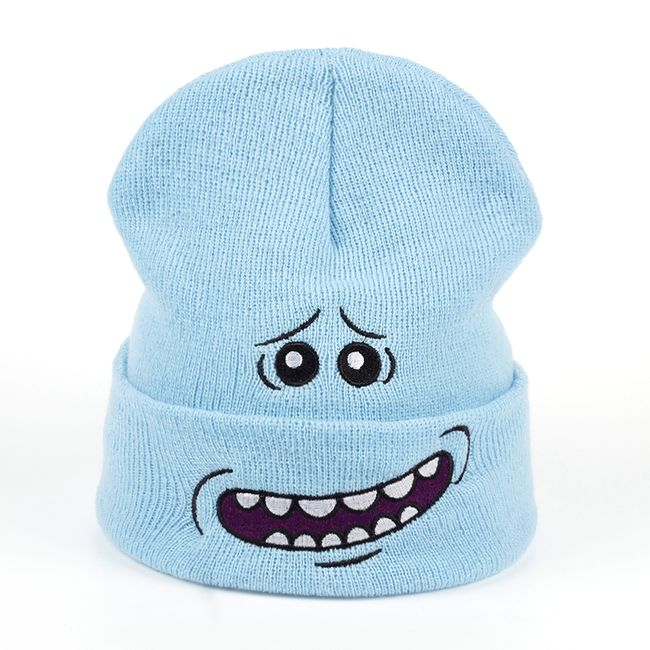 Čepice s vtipným obličej 1