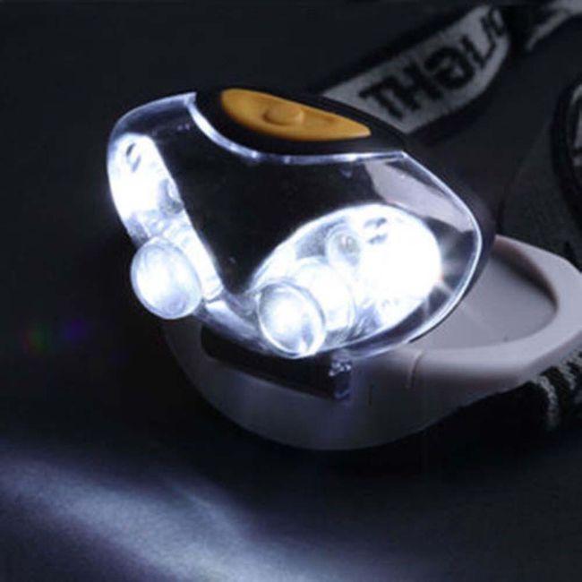 LED čelovka se třemi režimy 1