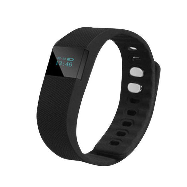 Silikonové hodinky s krokoměrem  - digitální - 6 barev 1