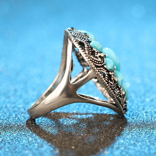 Dámský prsten - kamínky 1