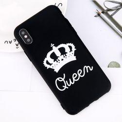 Kryt na iPhone - QUEEN, KING