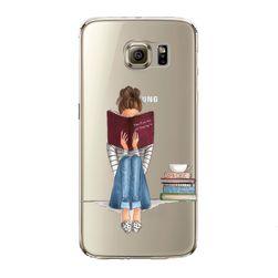 Zadní kryt pro Samsung - dívčí svět