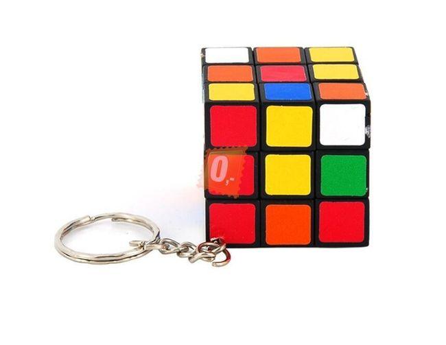 Rubikova kostka, 3x3, s přívěškem - krychle 1