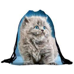 Vak na záda s kočičkami