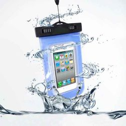 """Praktické vodotěsné pouzdro pro smartphony do 5,5"""" - různé barvy"""